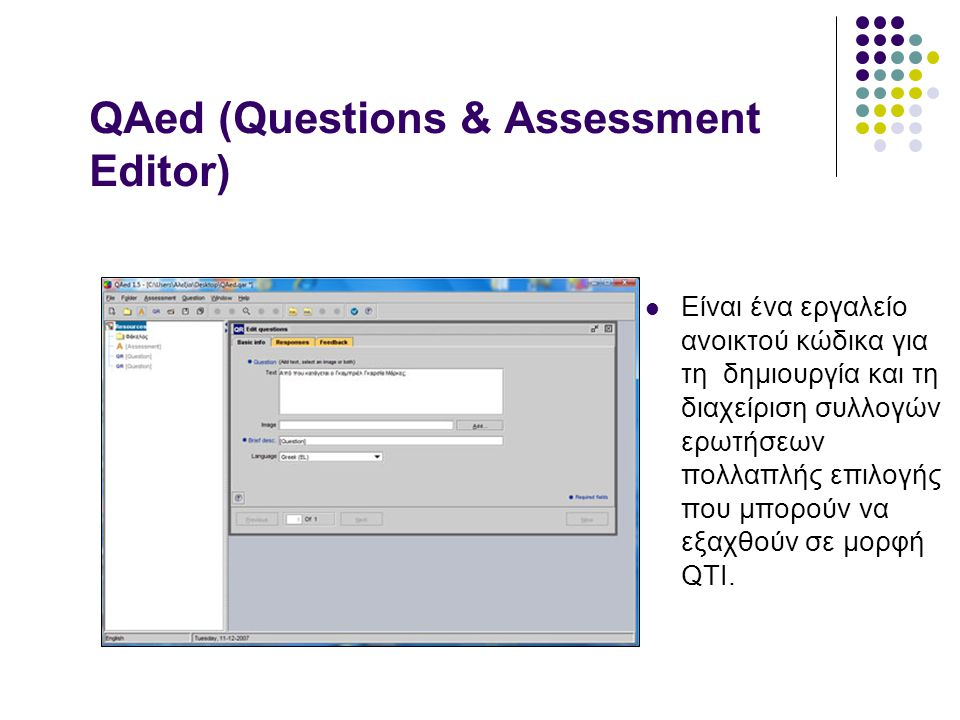 QAed (Questions & Assessment Editor)