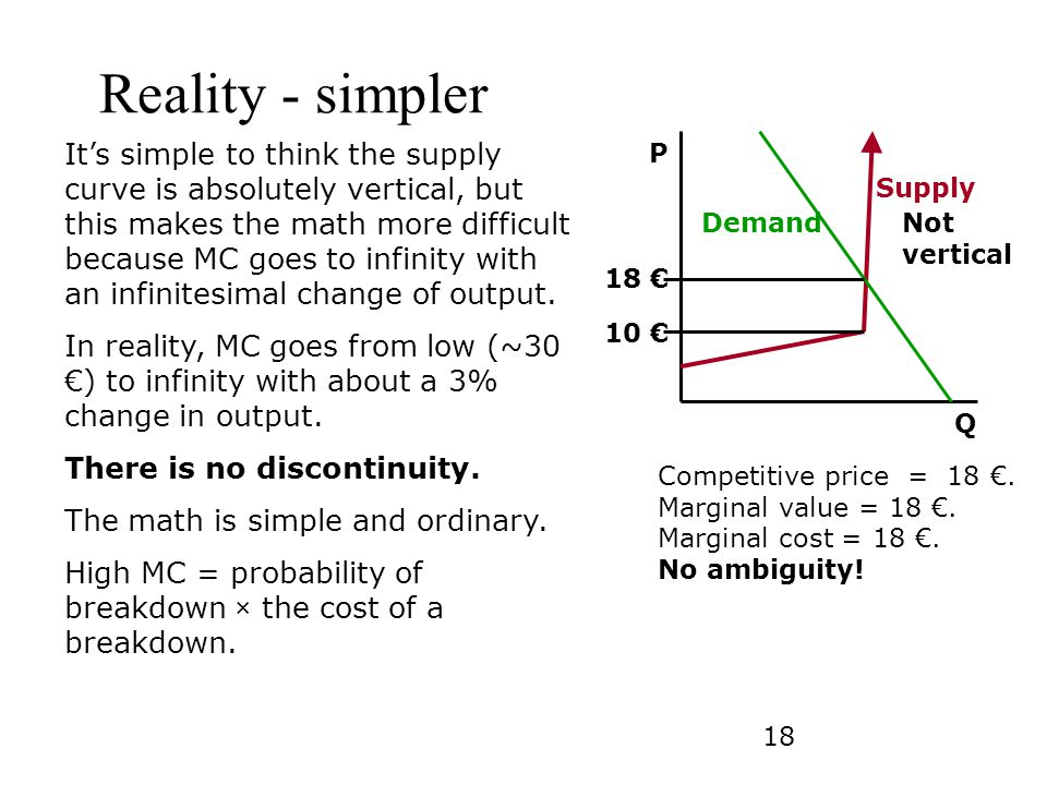 Reality - simpler