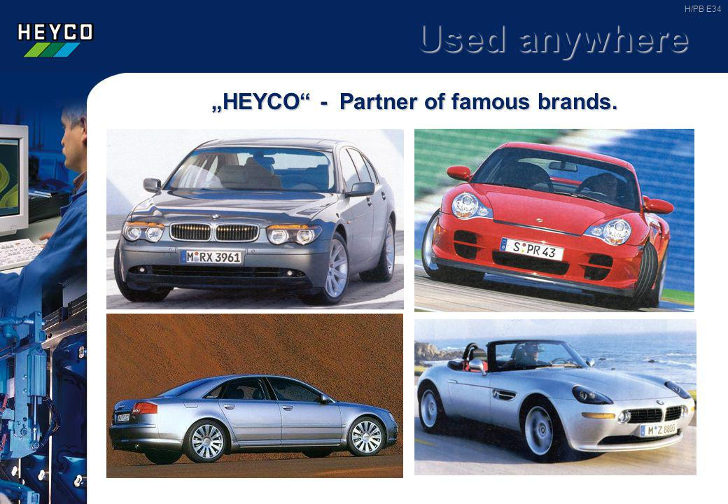 """HEYCO - Partner of famous brands."