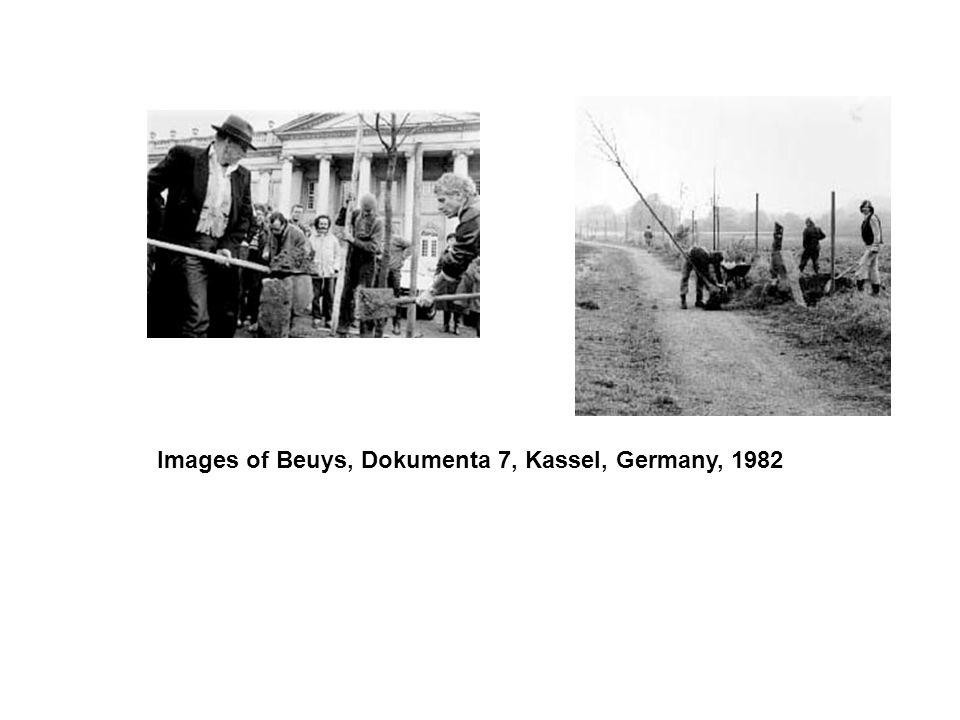 Images of Beuys, Dokumenta 7, Kassel, Germany, 1982