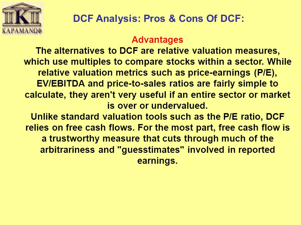 DCF Analysis: Pros & Cons Of DCF:
