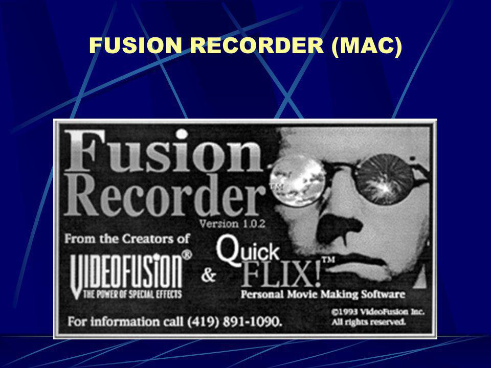 FUSION RECORDER (MAC)