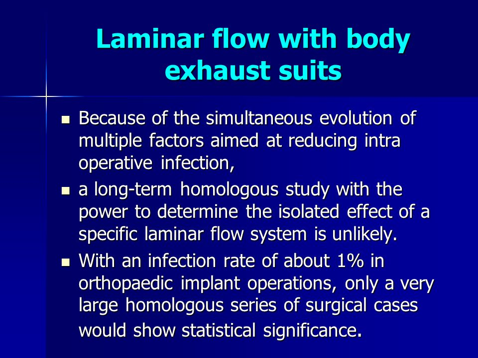 Laminar flow with body exhaust suits