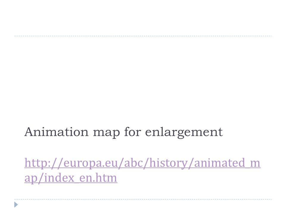 Animation map for enlargement http://europa