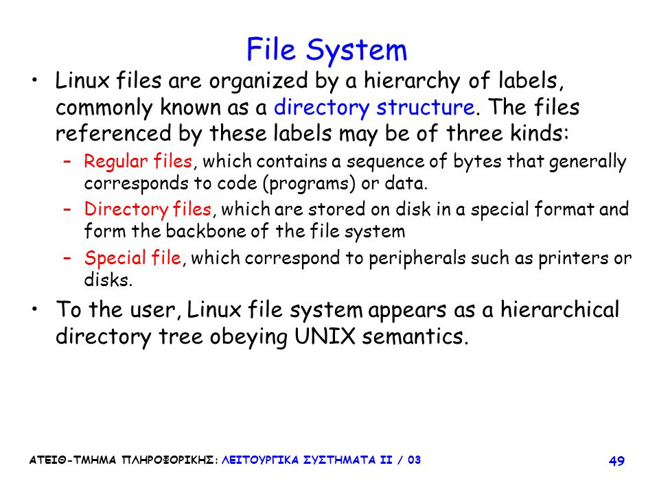 File System