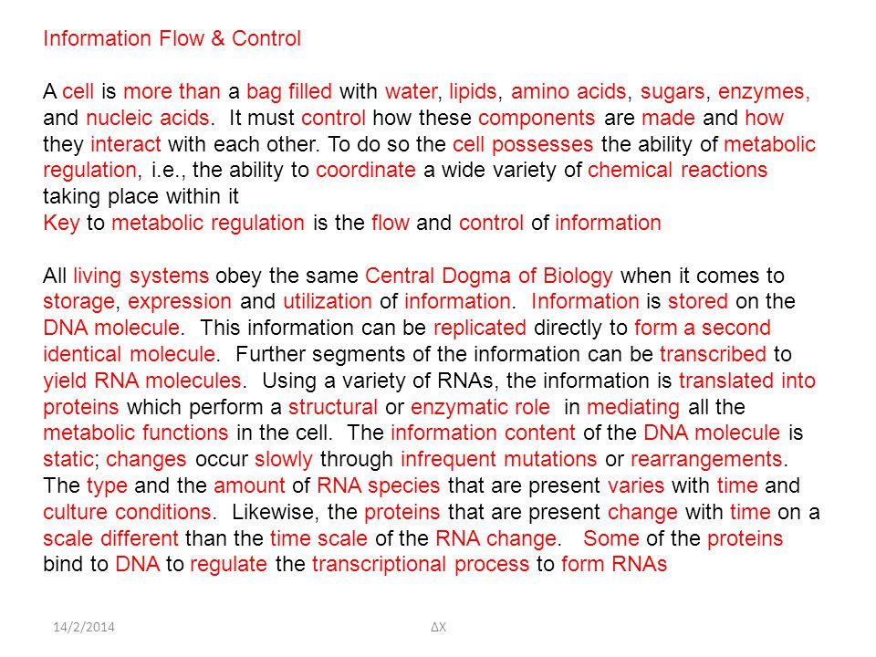 Information Flow & Control