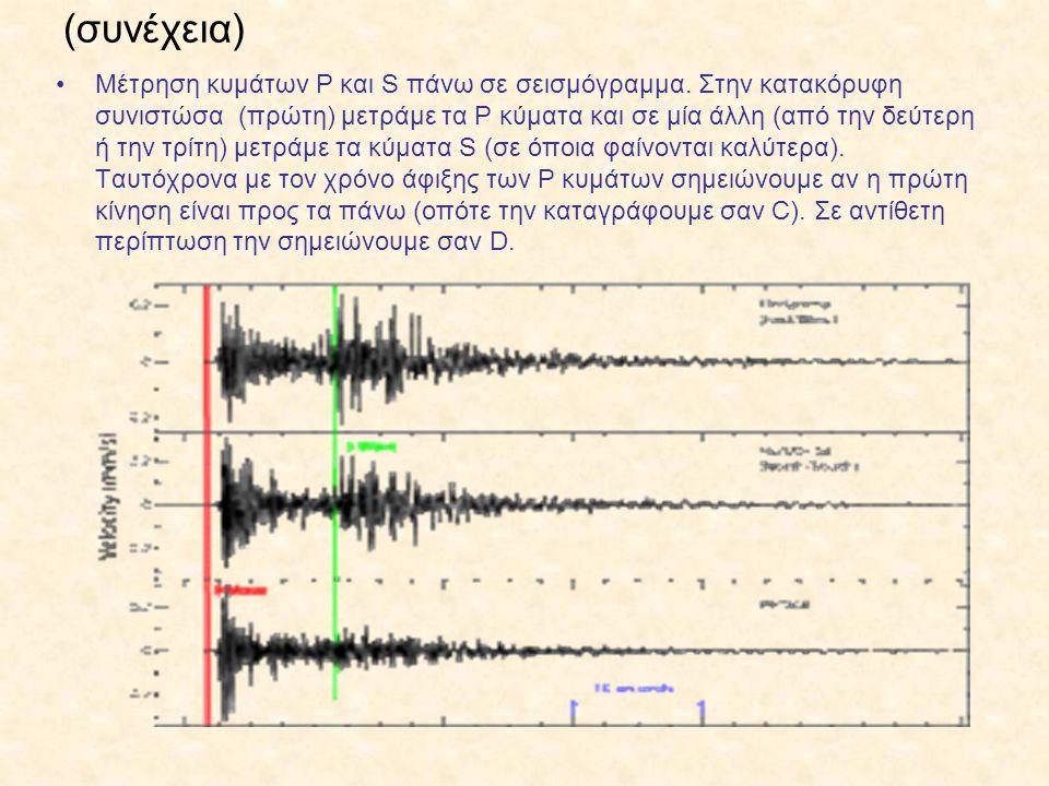 Αποτέλεσμα εικόνας για Σεισμόγραμμα