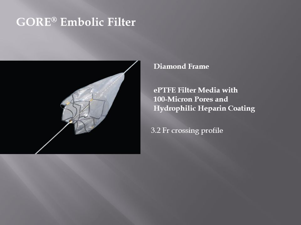 GORE® Embolic Filter Diamond Frame ePTFE Filter Media with