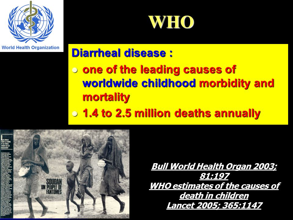 WHO Diarrheal disease :