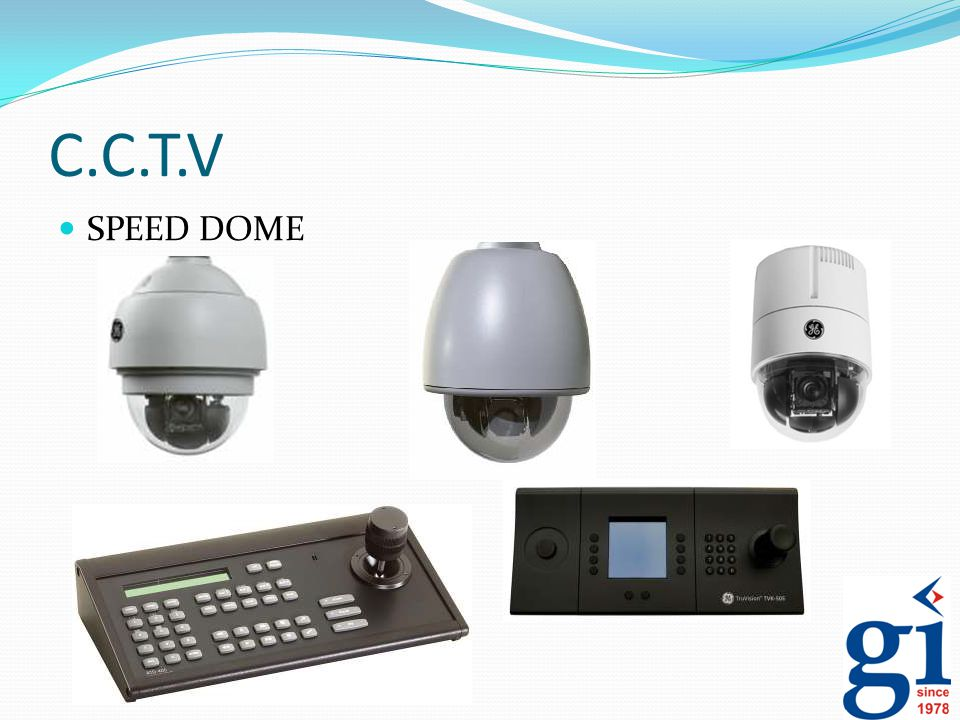 C.C.T.V SPEED DOME