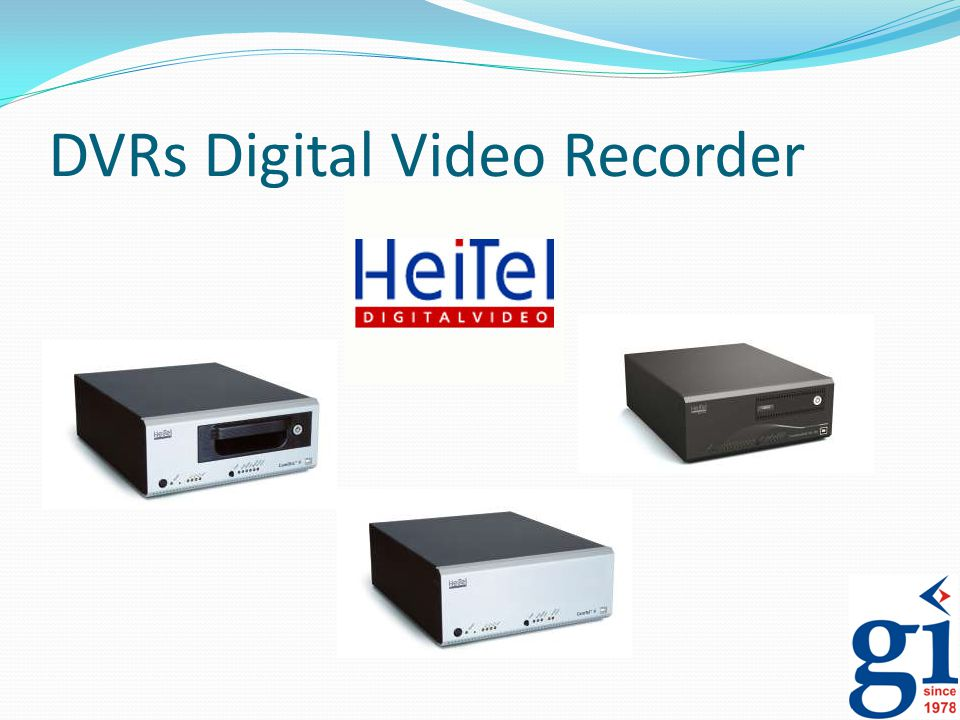 DVRs Digital Video Recorder